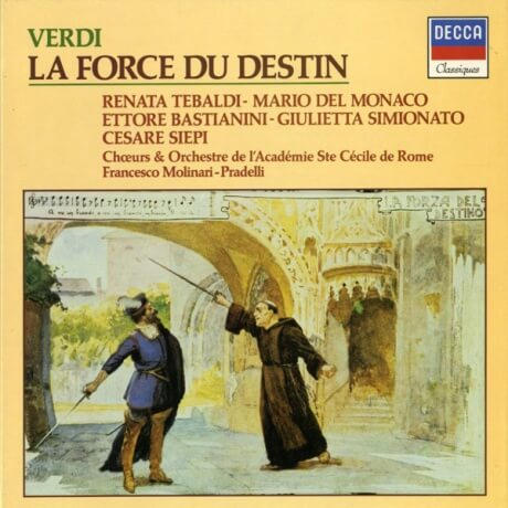 FR DECCA 592127 テバルディ&デル・モナコ ヴェルディ・運命の力(全曲)