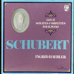 NL PHILIPS 6741 002 イングリット・ヘブラー シューベルト・ピアノ・ソナタ集