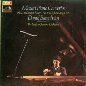 GB EMI ASD2465 バレンボイム モーツァルト・ピアノ協奏曲21,27番