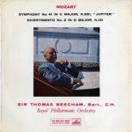 GB EMI ALP1536 ビーチャム モーツァルト・交響曲41番/ディヴェルティメント2番